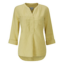 Buy Pure Collection Linen Pocketed Blouse Online at johnlewis.com