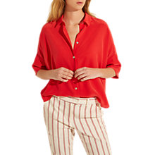 Buy Gerard Darel Cassie Blouse, Red Online at johnlewis.com