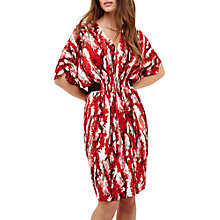 Buy Phase Eight Georgia Floral Print Dress, Red/Ivory Online at johnlewis.com