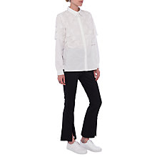 Buy French Connection Southside Shirt, White Online at johnlewis.com