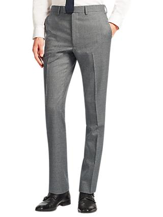 Kin Clifton Slim Fit Suit Trousers, Light Grey
