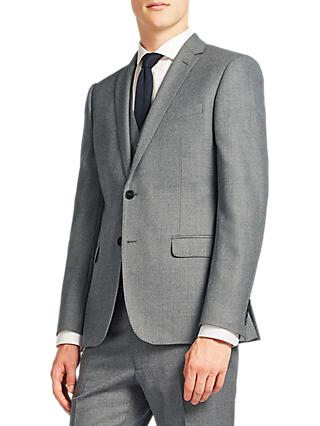 Kin Clifton Slim Fit Suit Jacket, Light Grey