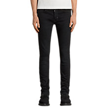 Buy AllSaints Balboa Rex Slim Fit Jeans, Black Online at johnlewis.com