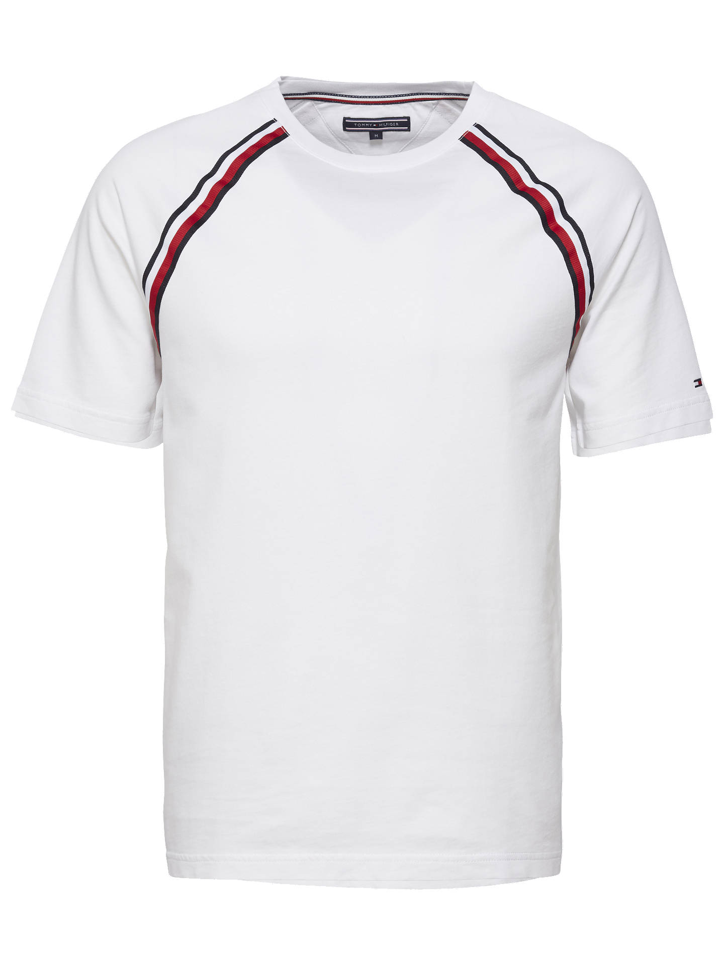 7e2169fb Buy Tommy Hilfiger Raglan Relaxed Fit T-Shirt, White, S Online at johnlewis  ...