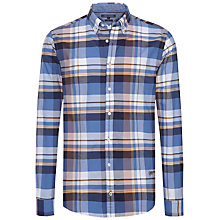Buy Tommy Hilfiger Delightful Standard Fit Check Shirt, Dutch Blue Online at johnlewis.com