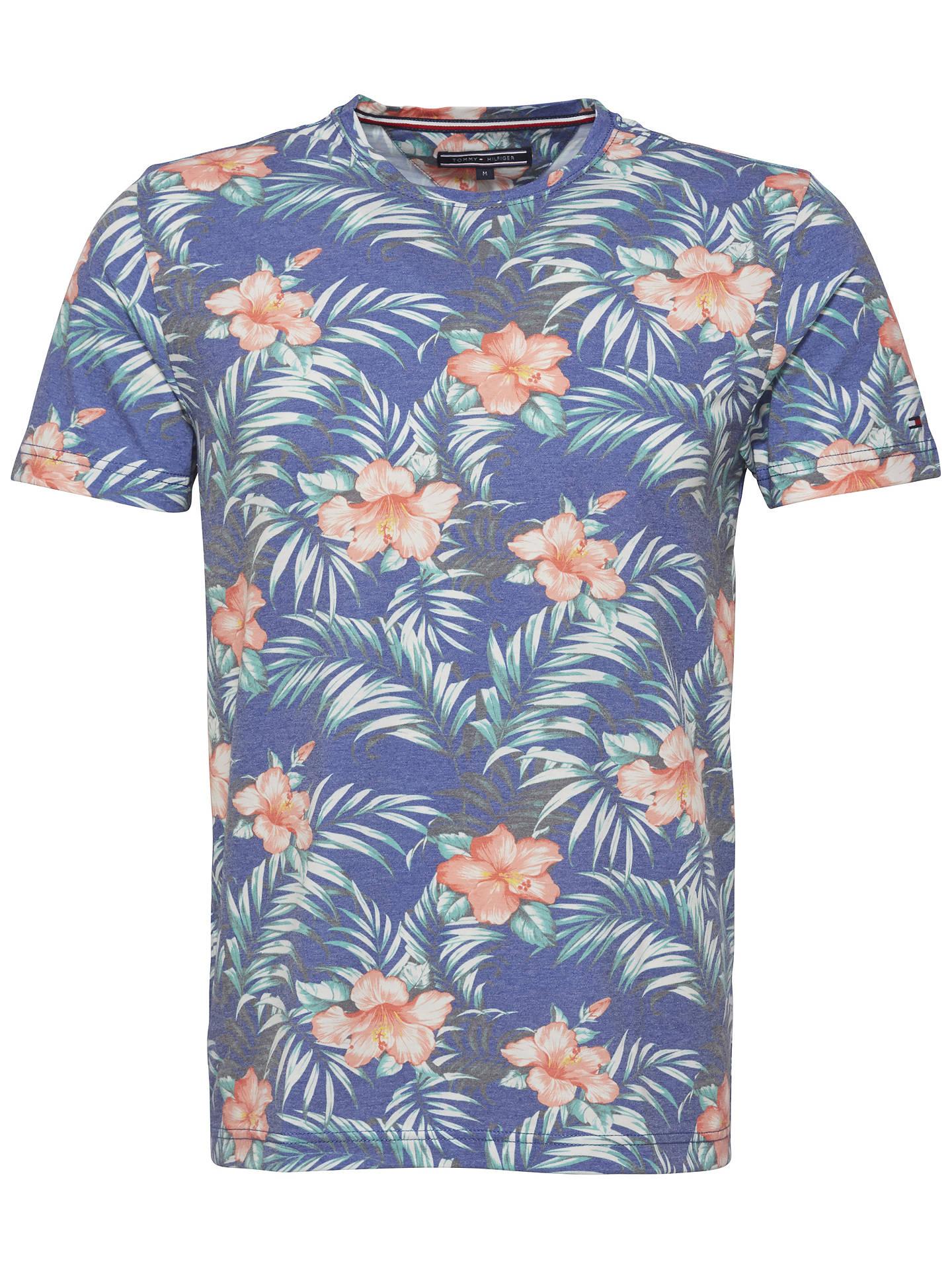 9b6c43e92acc Buy Tommy Hilfiger Hibiscus Printed T-Shirt