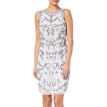 Buy Adrianna Papell Halter Floral Beaded Cocktail Dress, Serenity Online at johnlewis.com