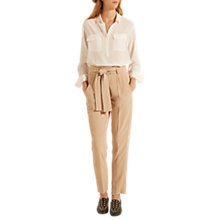 Buy Gerard Darel Marina Trousers, Beige Online at johnlewis.com