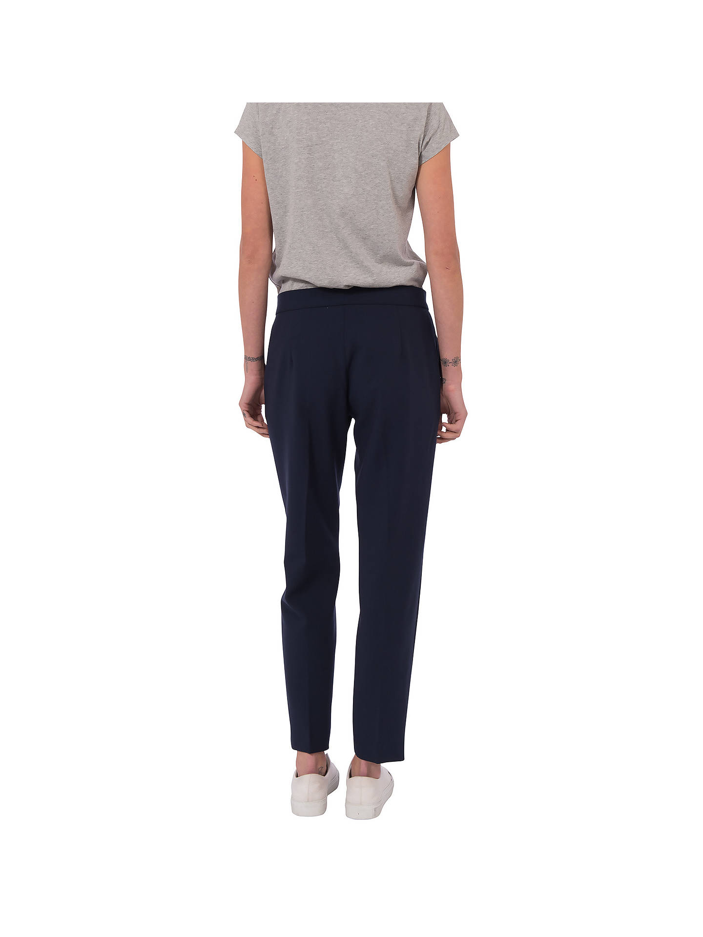 BuyFrench Connection Whisper Ruth Tapered Trousers, Nocturnal, 6 Online at johnlewis.com