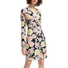 Buy French Connection Enoshima Printed Dress, Black/Multi Online at johnlewis.com