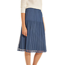 Buy Gerard Darel Aela Skirt, Blue Online at johnlewis.com