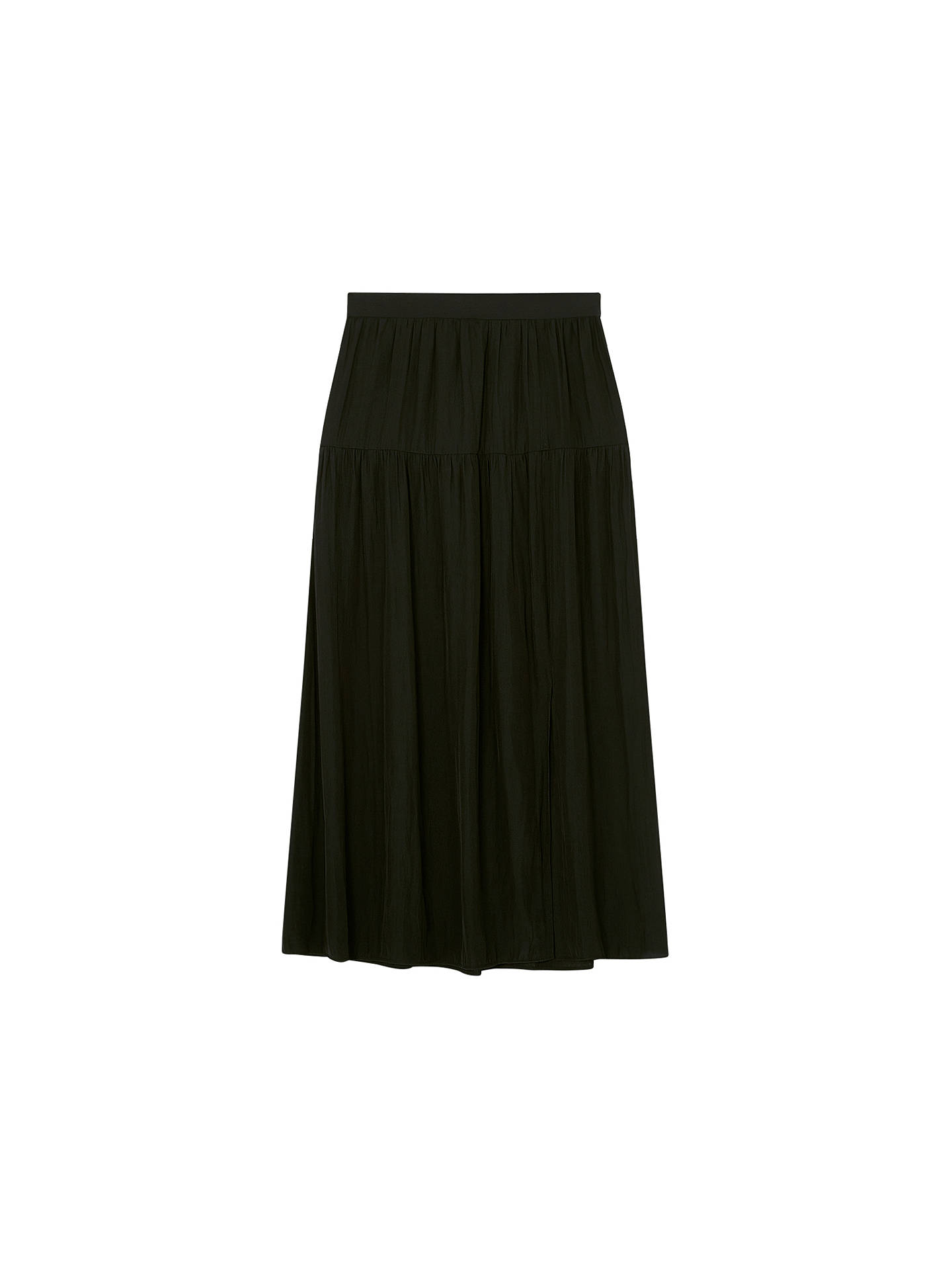 BuyGerard Darel Athina Floral Skirt, Black, 6 Online at johnlewis.com