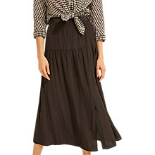 Buy Gerard Darel Athina Floral Skirt, Black Online at johnlewis.com