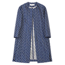 Buy Gerard Darel Printed Beverly Coat, Blue Online at johnlewis.com