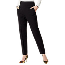 Buy Karen Millen High Waisted Trousers, Black Online at johnlewis.com
