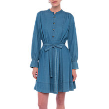 Buy French Connection Tidore Chambray Dress, Bleach Blue Online at johnlewis.com