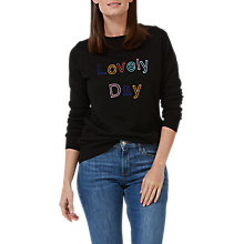 Buy Sugarhill Boutique Lovely Day Jumper, Black Online at johnlewis.com