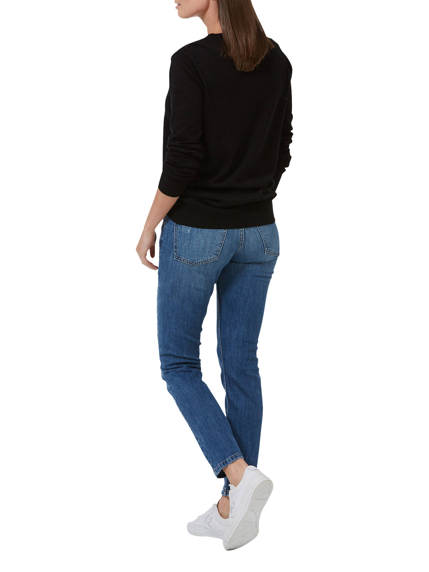 Buy Sugarhill Brighton Lovely Day Jumper, Black, 8 Online at johnlewis.com