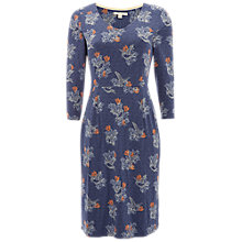 Buy White Stuff Tess Jersey Dress, Brooklyn Blue Print Online at johnlewis.com