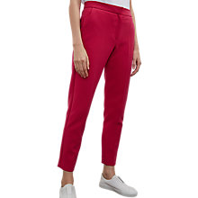 Buy French Connection Sundae Suiting Trousers, Magenta Haze Online at johnlewis.com