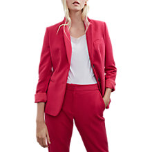 Buy French Connection Sundae Suiting Blazer, Magenta Haze Online at johnlewis.com