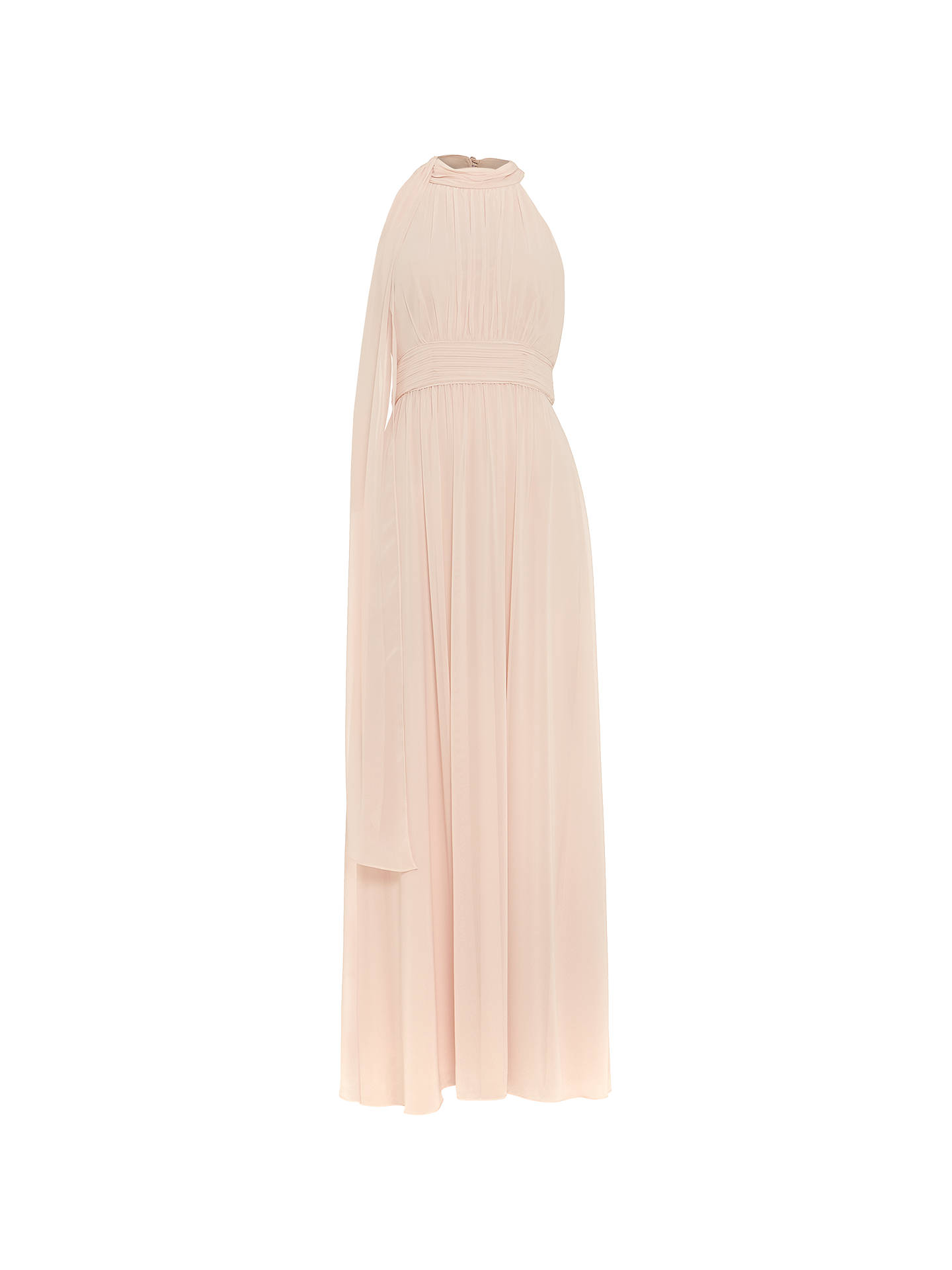 BuyPhase Eight Roxi Halterneck Maxi Dress, Pale Lipstick, 14 Online at johnlewis.com