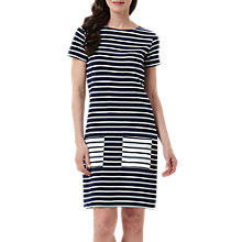 Buy Sugarhill Boutique Cheryl Stripe Tunic Dress, Navy/White Online at johnlewis.com