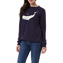 Buy Sugarhill Boutique Rita Whale Of A Time Jumper, Navy Online at johnlewis.com