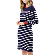 Buy Sugarhill Boutique Evie Hearts Dress, Navy/White Online at johnlewis.com