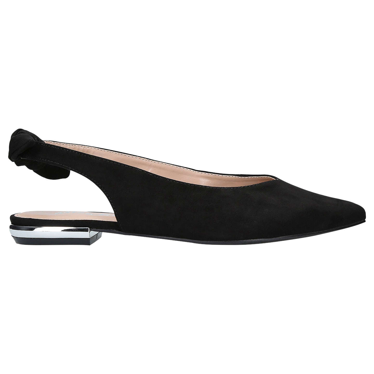 BuyMiss KG Maddie Slingback Pumps, Black, 3 Online at johnlewis.com