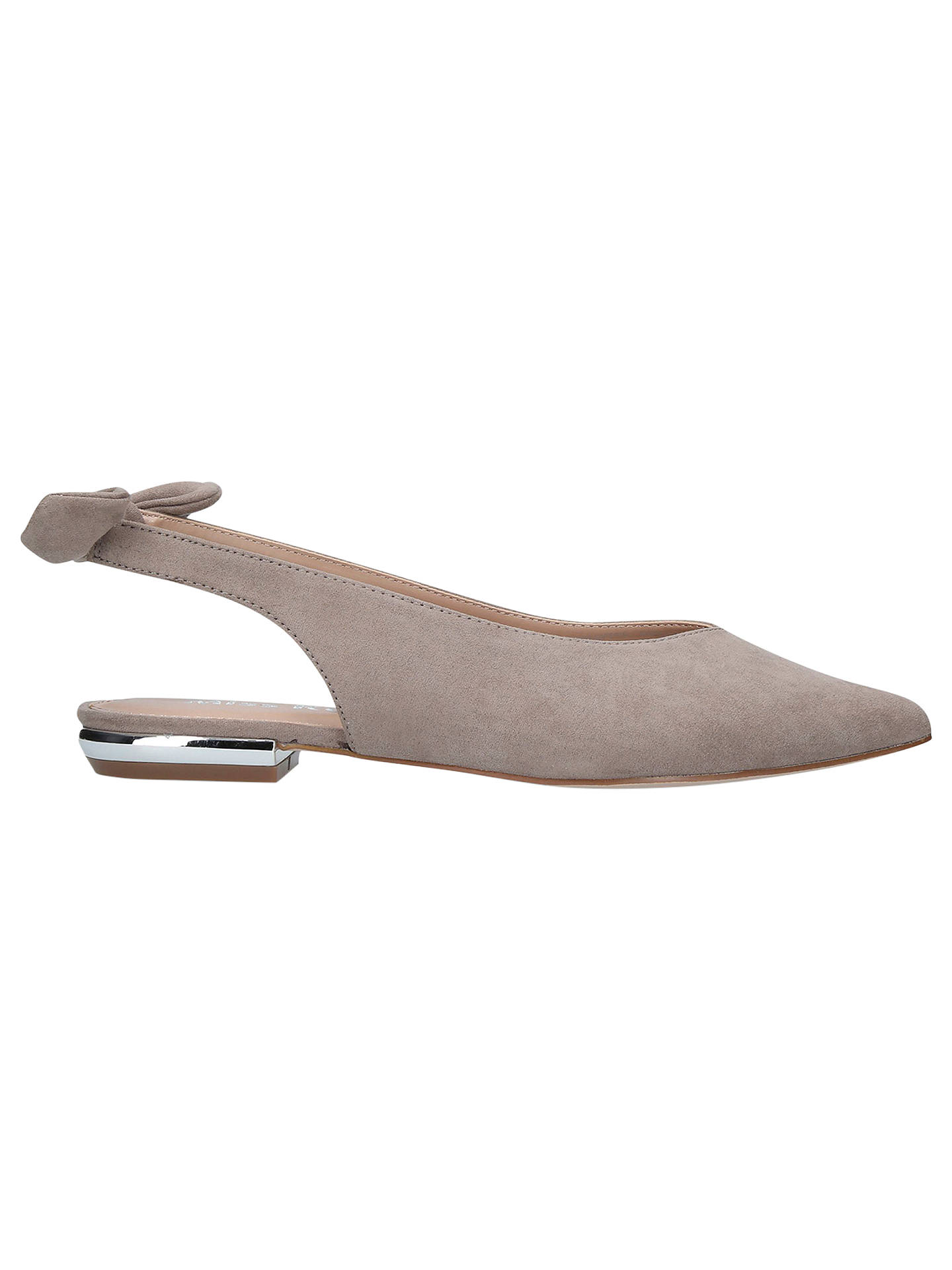 BuyMiss KG Maddie Slingback Pumps, Grey, 3 Online at johnlewis.com