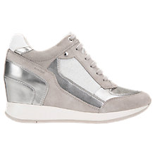 Buy Geox Nydame Wedge Heel Zip Up Trainers Online at johnlewis.com