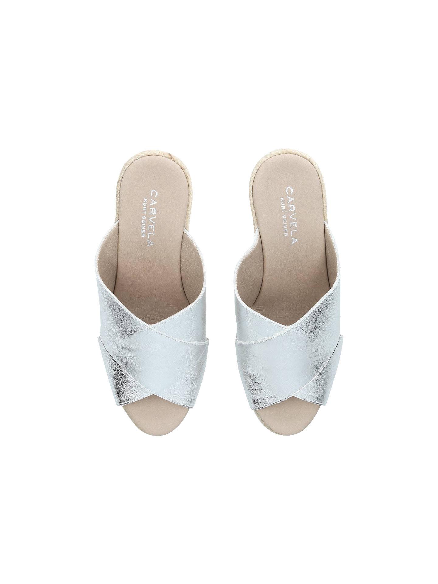 05153eba43c7 ... Buy Carvela Karp Leather Wedge Heel Sandals