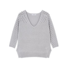 Buy Gerard Darel Flore Pullover Jumper, Grey Online at johnlewis.com