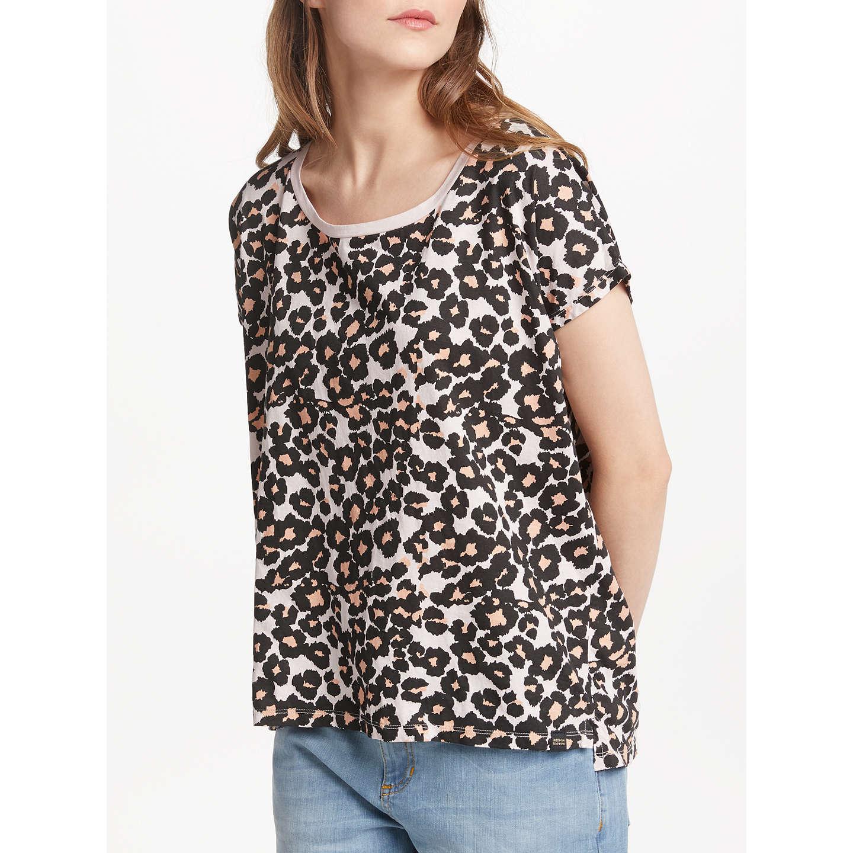 BuyMaison Scotch Oversized Leopard Print T-Shirt, Multi, XS Online at  johnlewis.