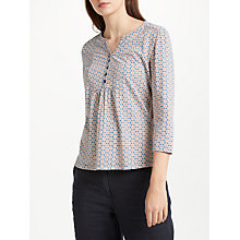 Buy Seasalt Castor Top, Flower Sailor Block Print Online at johnlewis.com