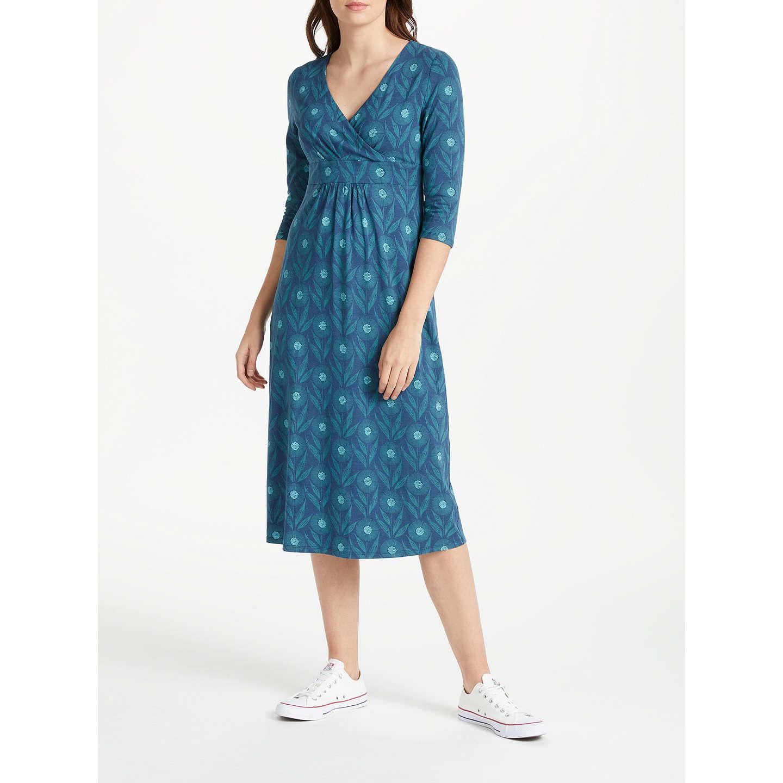 Seasalt Lake Dress, Blue at John Lewis
