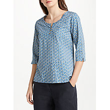 Buy Seasalt Picture Hook Top, Blue Online at johnlewis.com