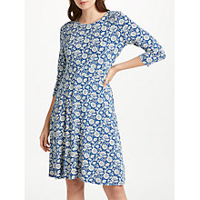 Buy Seasalt Longor Dress, Swirling Chrysanth Marine Online at johnlewis.com