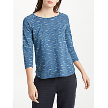 Buy Seasalt Redon Top, Fish Lines Night Online at johnlewis.com