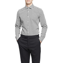 Buy Reiss Tonia Slim Fit Cotton Shirt, White Online at johnlewis.com