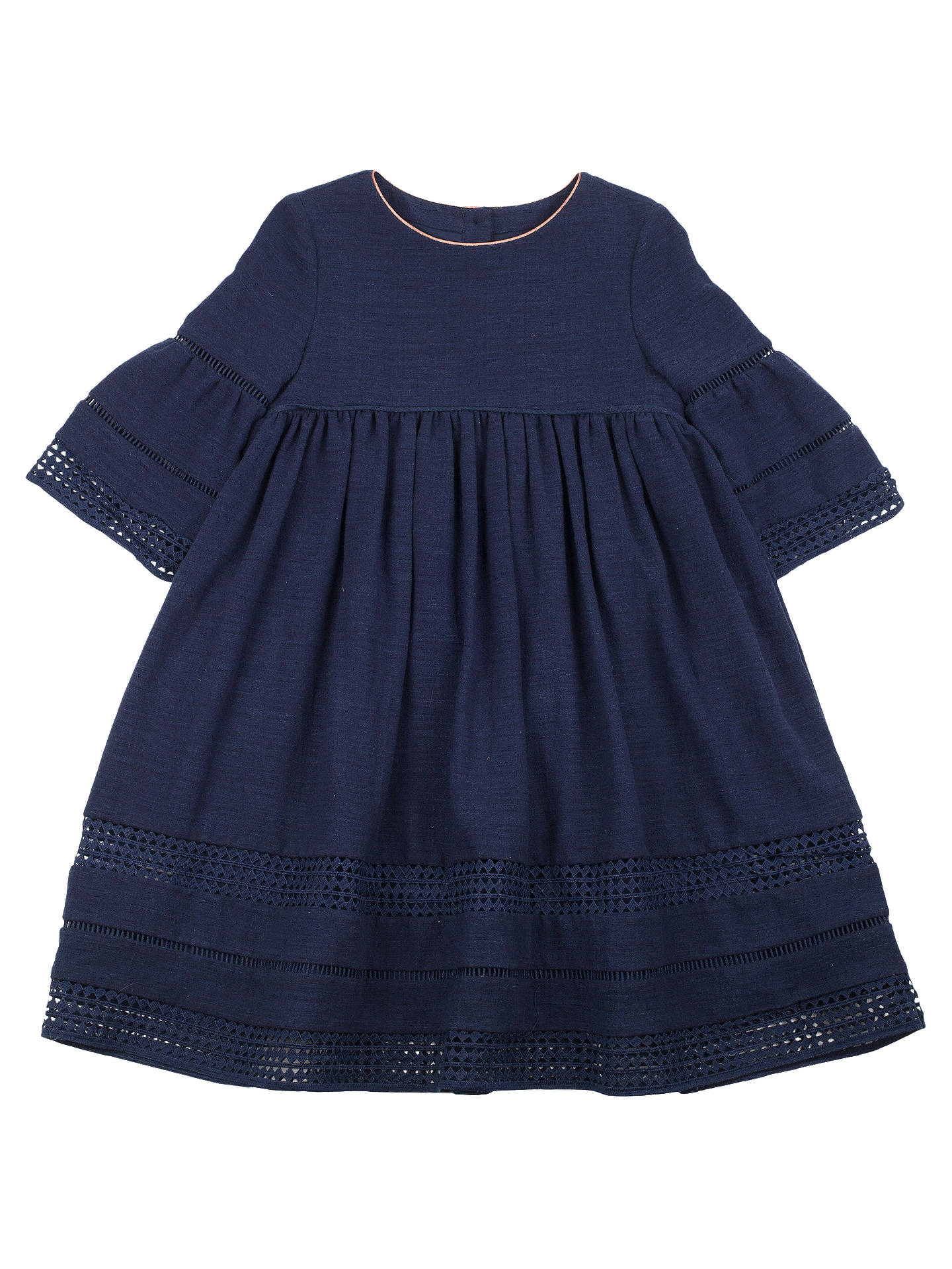 52bb7c8be54e Buy Outside the Lines Girls  Lace Smock Dress