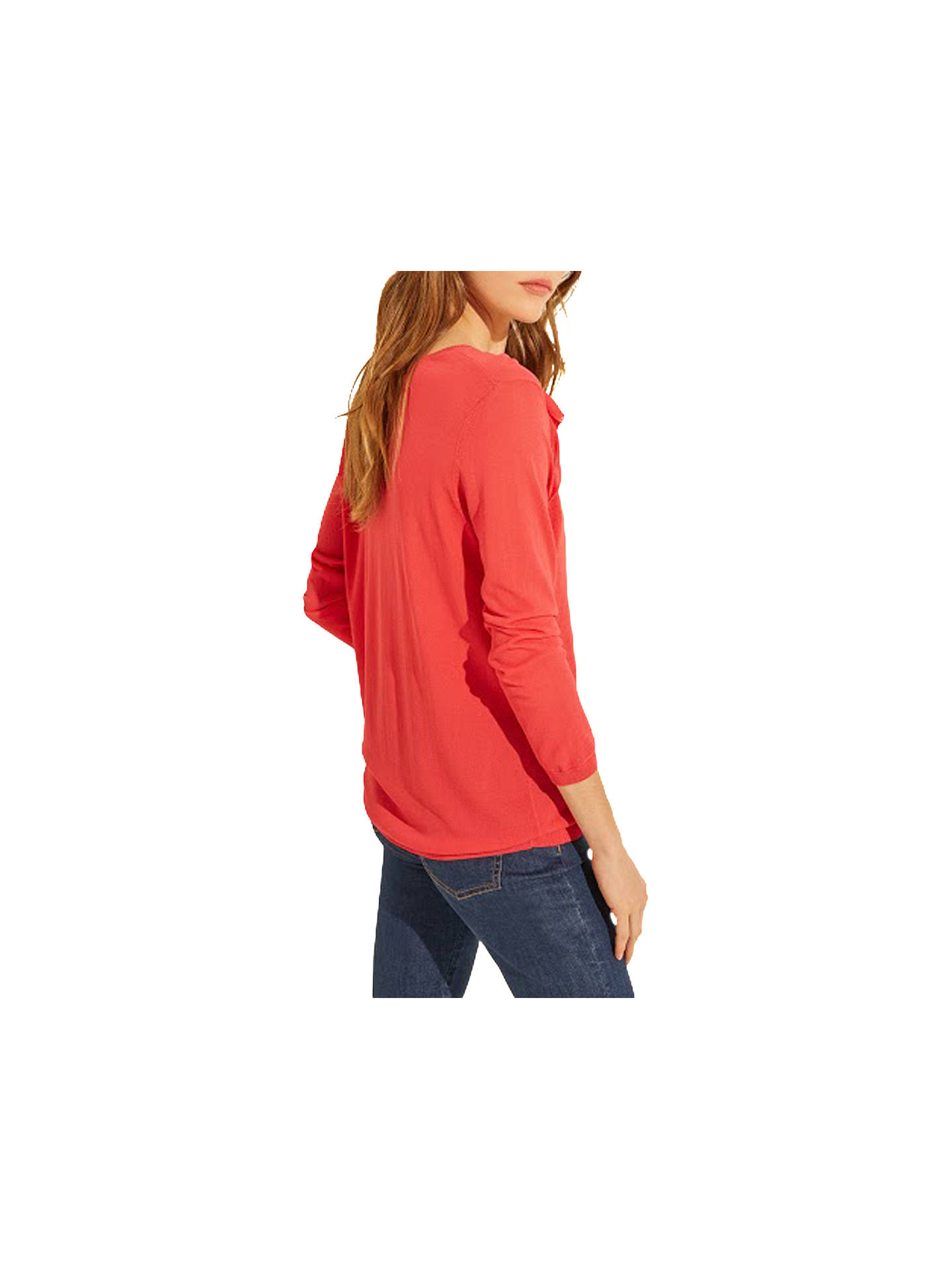 BuyGerard Darel Flamant Jumper, Orange, 8-10 Online at johnlewis.com