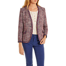 Buy Gerard Darel Riley Jacket, Red/Multi Online at johnlewis.com