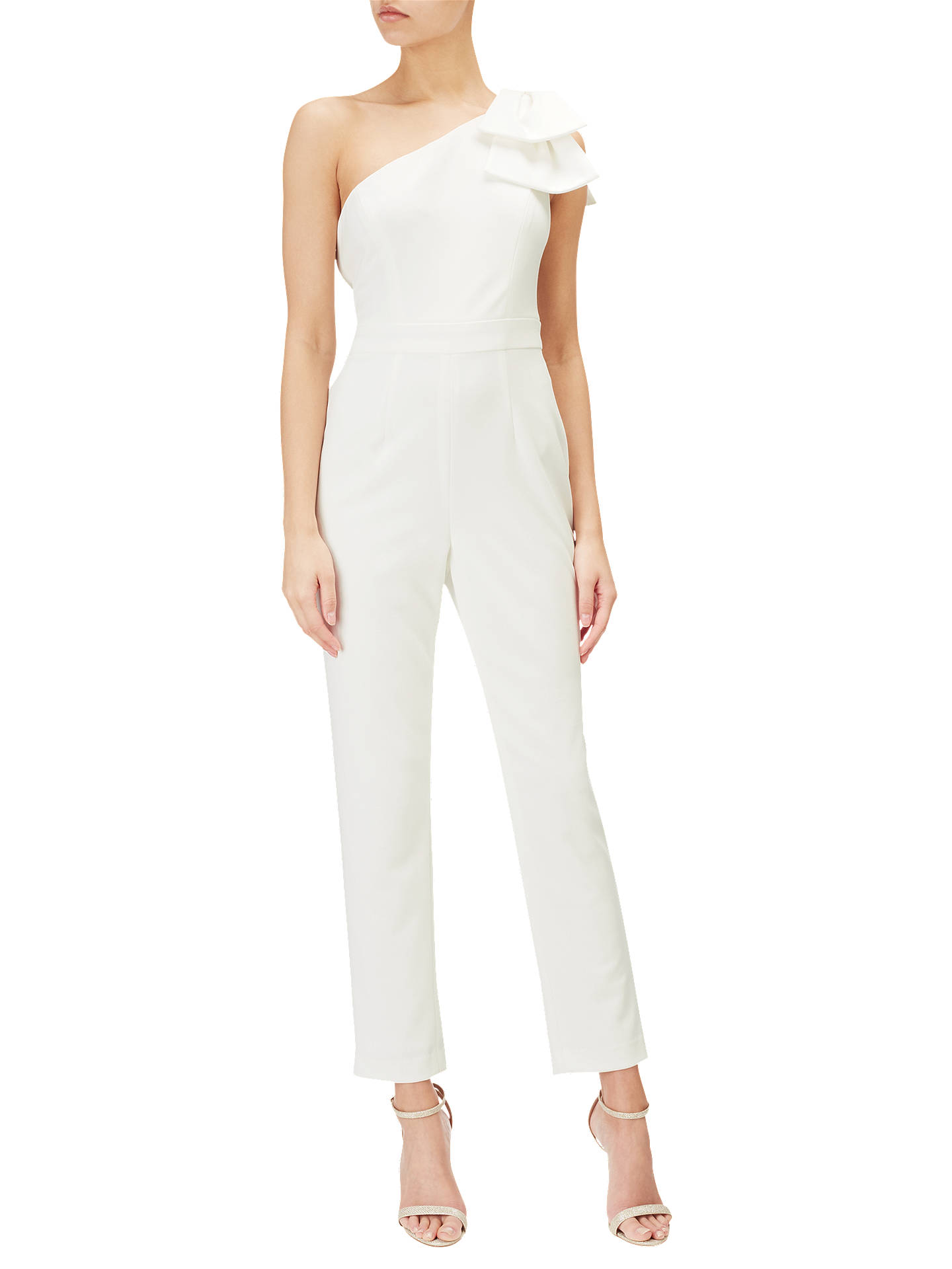 259bf2509db Buy Adrianna Papell Petite One Shoulder Jumpsuit