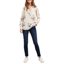 Buy White Stuff Finch Print Shirt, White Online at johnlewis.com