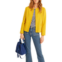 Buy Gerard Darel Roxanne Jacket, Yellow Online at johnlewis.com