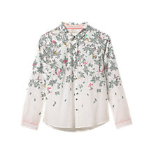 Buy White Stuff Molly Bird Shirt, White Online at johnlewis.com
