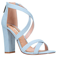 Buy Miss KG Faun Cross Strap Block Heeled Sandals Online at johnlewis.com