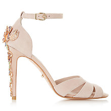 Buy Dune Maisonn Embellished Stiletto Sandals, Blush Online at johnlewis.com